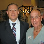 PBG Council candidate James D'Loughy and Mel Grossman