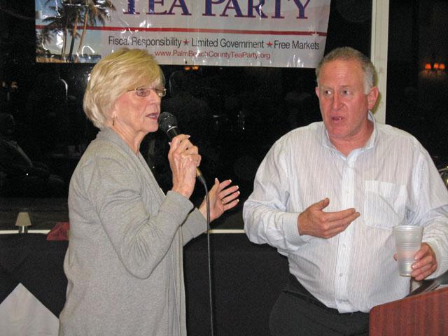 Terry and Speaker Trevor Louden