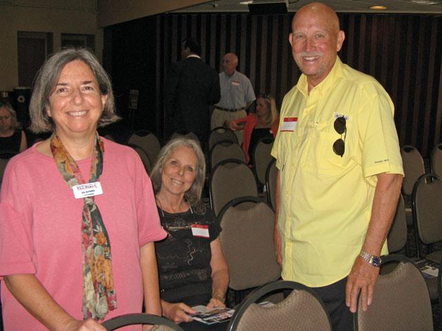 Iris Scheibl, Doreen Baxter, Dennis Lipp