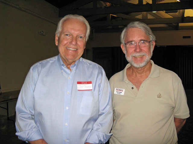Former Sheriff Candidate Joe Talley and Fred Scheibl