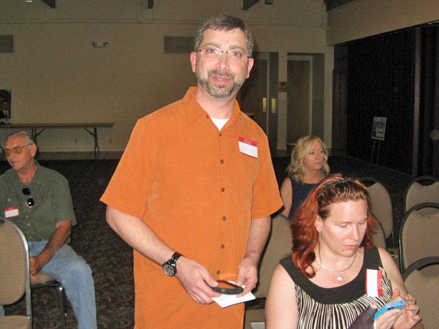 Moderator Steve Rosenblum
