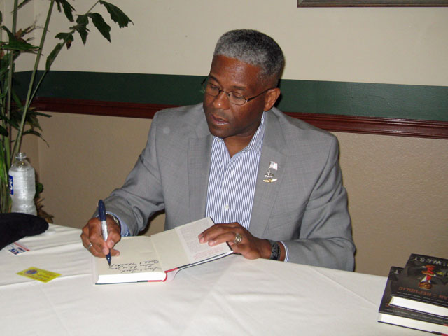 Colonel West Book Signing