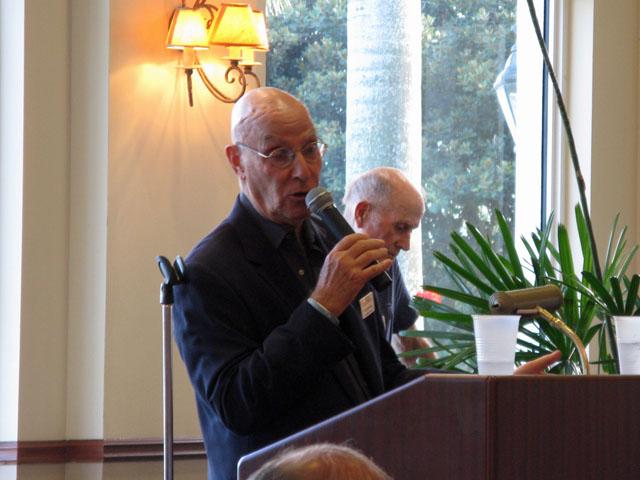 PBCTP President Mel Grossman