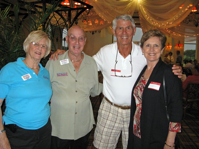 Terry Gallagher, Mel Grossman, Jim Hunter, Laureen Hunter